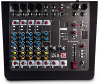 Allen & Heath Mixer compacto híbrido / interfaz USB 4 × 4