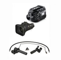 Blackmagic Design URSA Broadcast Camera y Fujinon 5BRM-K3 MS-01