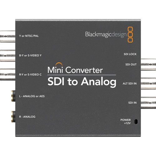 Mini Converter SDI a Analog