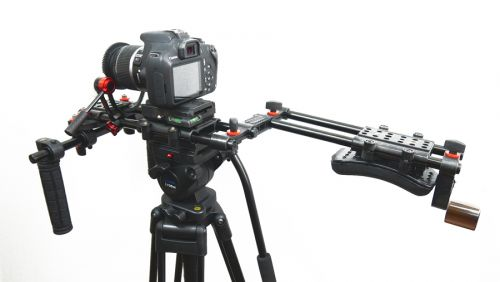 FILMCITY Handheld Camera Rig with Counter Weight FC-10W