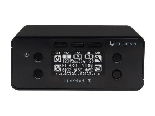 Cerevo Liveshell X PC-less live streaming and recording at up to 1080/60p
