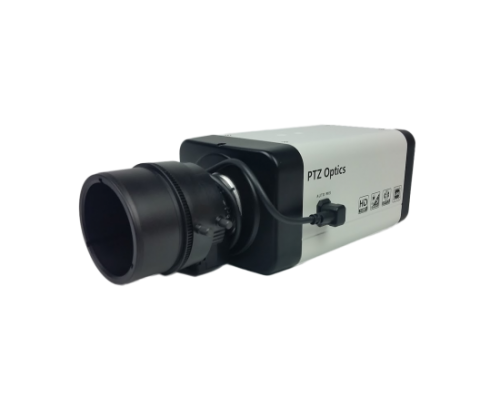 PTZOptics PTVL-ZCAM 2.7MP HD-SDI Box Camera 4x W.A Zoom Lens