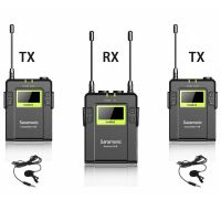 Saramonic Digital UHF Wireless Lavalier Microphone System with 2 Bodypack UwMic9